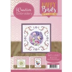 CB10010 Creative Embroidery 10 - JA - Happy Birds