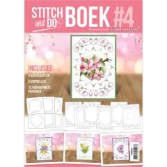 STDOBB004 Stitch and Do Book 4 - Flowers