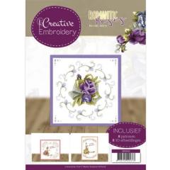 CB10022 PM Creative Embroidery 22  Romantic Roses