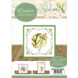 CB10023x JA Creative Embroidery 23 Welcome Spring