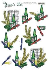 CD11651 Yvons Art  Schweden Puzzle, Sudoko