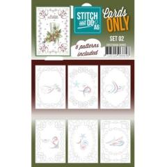 COSTDOA610002 Stitch & Do Cards Only Set A6 Set 02