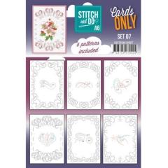 COSTDOA610007 Stitch & Do Cards Only Set A6 Set 07