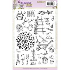 PMCS10048 Clear Stamps - Precious Marieke - Beautiful Garden