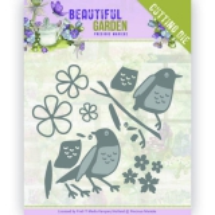 PM10206 PM Stanzschablone Beautiful Garden - Birds