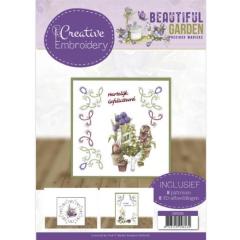 CB10025x Creative Embroidery 25 - Precious Marieke - Beautiful Garden