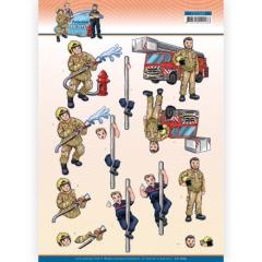 CD11669 YC Schneidebogen Big Guys Professions - Fire department