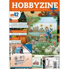 HZBP42 Hobby Zine Plus 42 mit Stanzschablone YCD10241