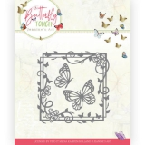 JAD10122 Stanzschablone  Butterfly Touch - Butterfly Square