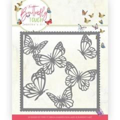 JAD10118 Stanzschablone Jeanines Art - Butterfly Touch - Butterfly Frame