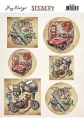 CDS10025 Scenery - Amy Design - Transportation