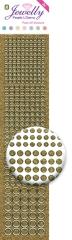 3.8057 Jewelly Pearls & Gems Dots UFG Gold, 2 Bogen