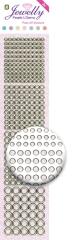 3.8054 Jewelly Pearls & Gems Dots GT White, 2 Bogen