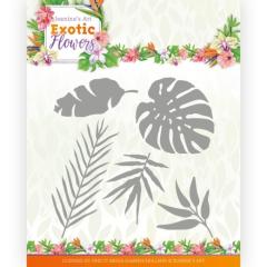 JAD10132 JA Stanzschablone Exotic Flowers Exotic Leafs