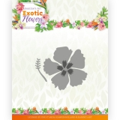 JAD10134 JA Stanzschablone Exotic Flowers Exotic Hibiscus