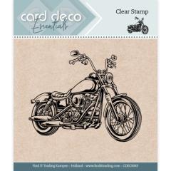 CDECS063 Card Deco Essentials - Clear Stamps - Motor