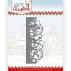 YCD10246 YC Stanzschablone Wintry Christmas Stars Border