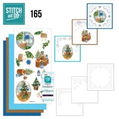 STDO165 Stitch & Do Set 165 JA Christmas Cottage