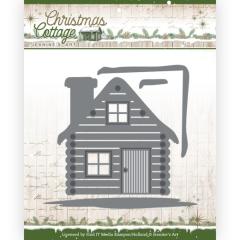 JAD10139 JA Stanzschablone Christmas Cottage - Cottage