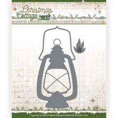 JAD10137 JA Stanzschablone  Christmas Cottage - Lantern