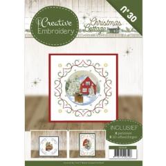CB10030 Creative Embroidery 30 - JA - Christmas Cottage