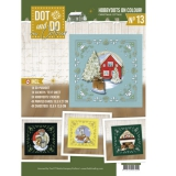 DODOOC10013 HobbyDots in Colour  13 Christmas Cottage