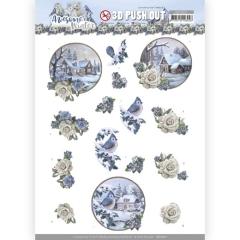 SB10601 AD Stanzbogen Awesome Winter - Winter Village