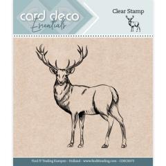 CDECS073 Card Deco Essentials - Clear Stamps - Hirsch