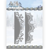 ADD10255 AD Stanzschablone Awesome Winter - Winter Lace Border