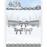 ADD10254 AD Stanzschablone Awesome Winter - Winter Lace Bow