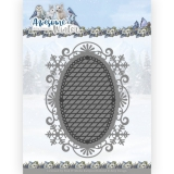 ADD10253 AD Stanzschablone Awesome Winter - Winter Lace Oval