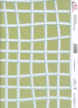 Boy Plaid Meadow Papier 2-seitig