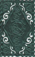 1231 Satindeckchen grün