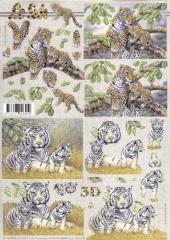4169800 Tiere der Wildnis