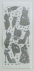LCR61.3188 Ziersticker Damen silber