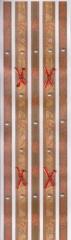 63003 Selbstklebende Ribbons mit Perlen und Schleifen