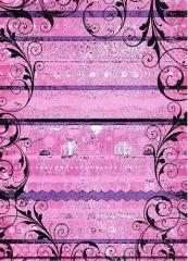 CRD8162 Ribbon Scrolls