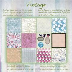 1001801x Papierblock Vintage 1