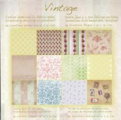 1001802x Papierblock Vintage 2