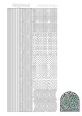 STDD01 Hobbydots Sticker Diamant Türkis