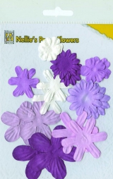 162623 Nellie´s Paper Flowers Purple
