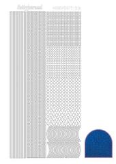 STDD04 Hobbydots Sticker Diamant blau