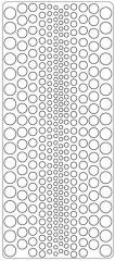 0429dg Dots dunkelgrün