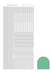 STDP21 Hobbydots Sticker mint pastel (Serie 2)