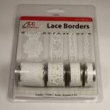 BL382299 Selbstklebende Lace Borders Love White