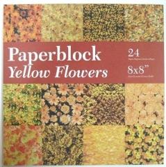 BPB424399 Papierblock Yellow Flowers