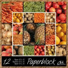 BPB257099 Papierblock Fruit