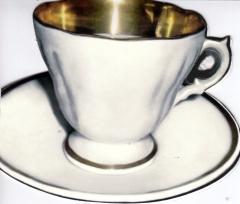 123T Doppelkarte Kaffeetasse