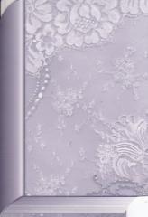 142T Doppelkarte Buchkarte lila