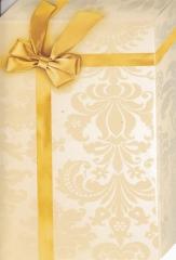 144T Doppelkarte Geschenk Gold-Gelb